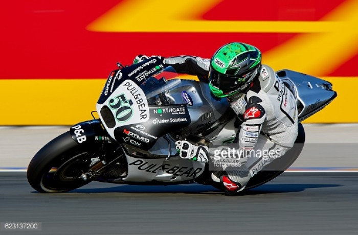 Laverty and Hernandez end their time in the MotoGP in Valencia