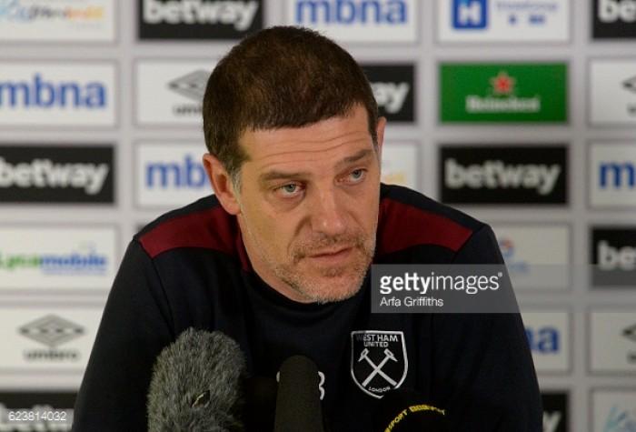 Slaven Bilic sees a good opportunity to end Tottenham's unbeaten run