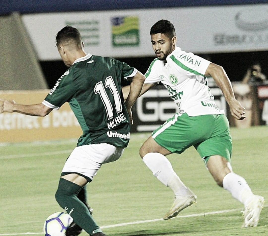 Com dois gols de Kayke, Goiás vence Chape no Serra Dourada e salta na classificação