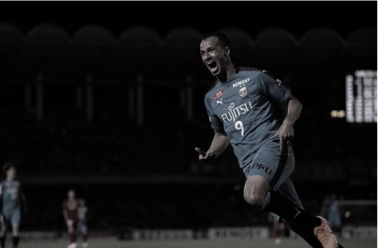 """Leandro Damião completa um ano no Japão e comenta:""""Estou muito feliz"""""""