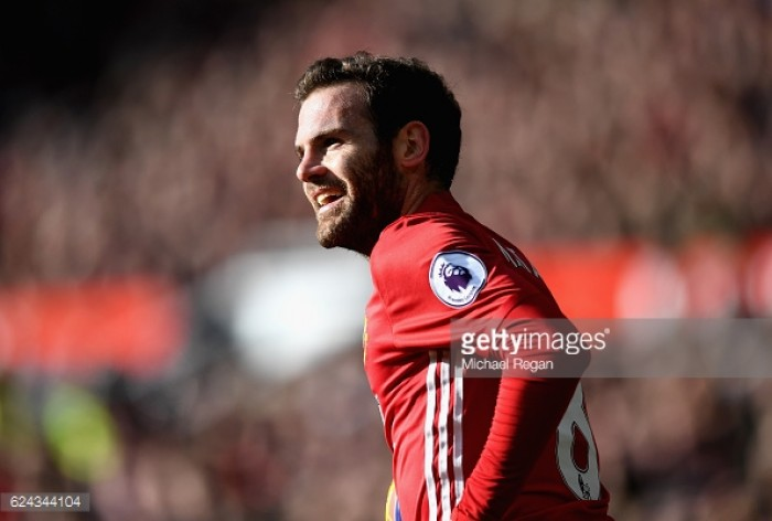 Juan Mata has surprised with vital performances this season, says Gary Neville