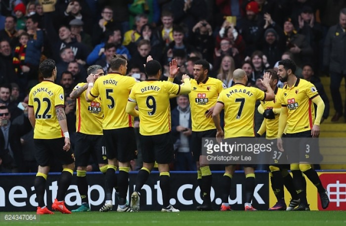 Watford player ratings from their 2-1 win over Leicester City