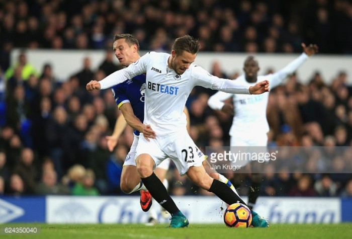 Everton 1-1 Swansea City: Swans' player ratings as Bradley's side slip to bottom