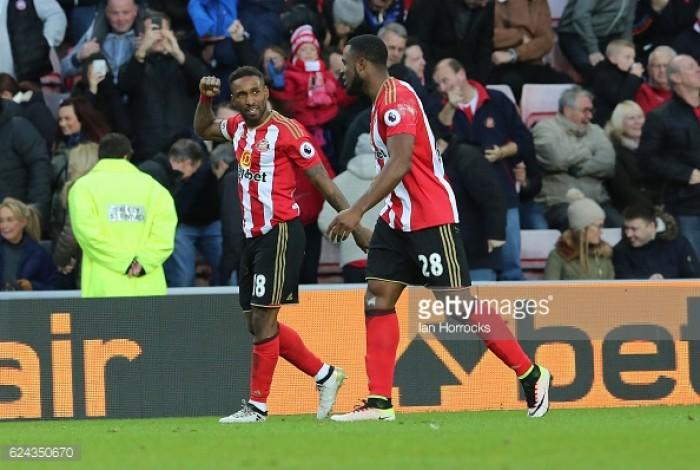 """David Moyes praises """"special"""" Jermain Defoe after 150th Premier League goal"""