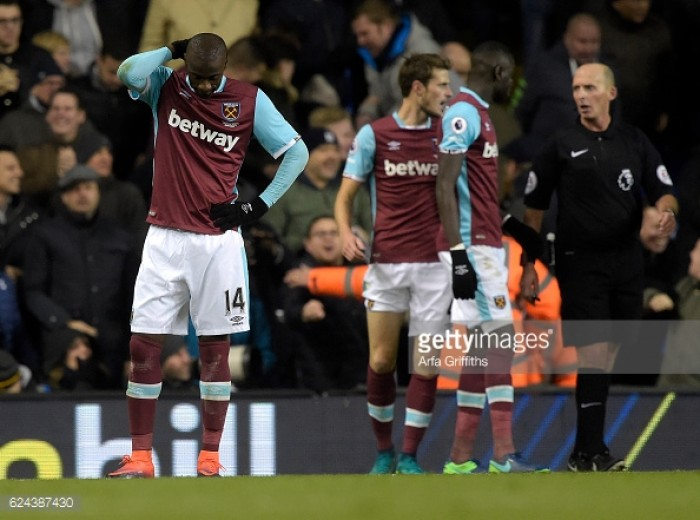 West Ham need to stay positive after Tottenham heartbreak, insists Pedro Obiang