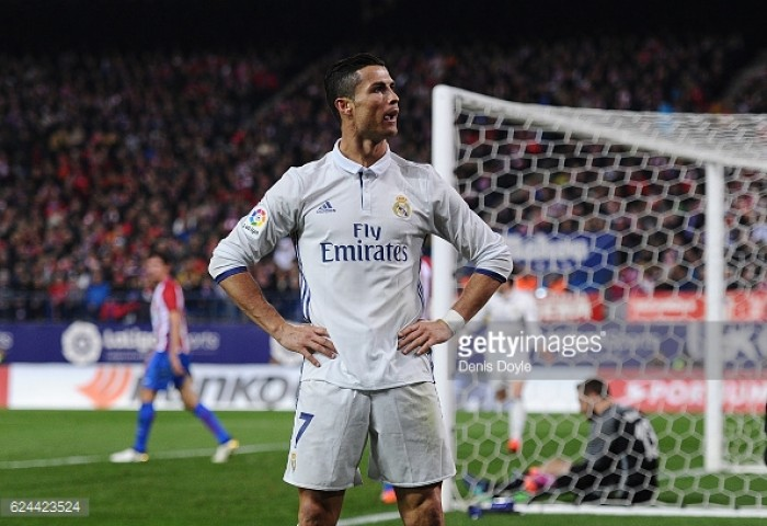 Atletico Madrid 0-3 Real Madrid: Hat-trick hero Ronaldo demolishes Atletico