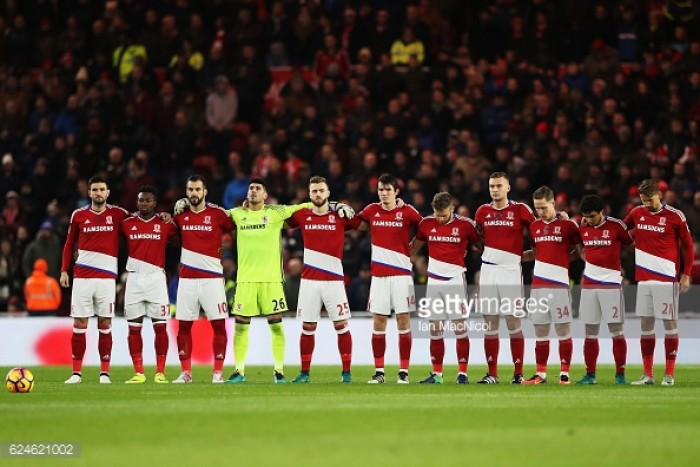 Middlesbrough 0-1 Chelsea: 'Boro player ratings in narrow defeat