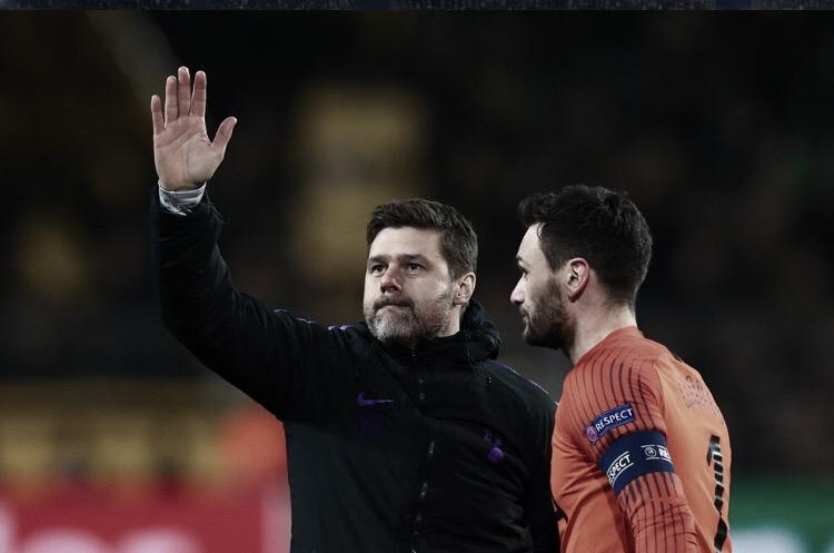"""Pochettino exalta classificação do Tottenham após nove anos: """"Merecemos"""""""