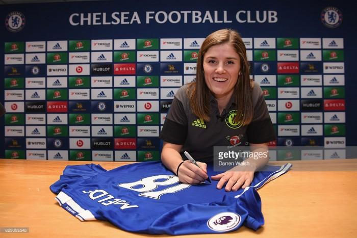 Maren Mjelde makes Chelsea switch