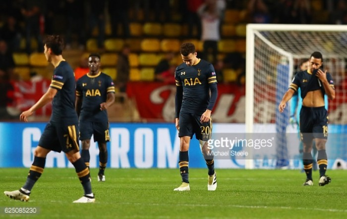 AS Monaco 2-1 Tottenham Hotspur: Lemar's winner sends Spurs crashing out the Champions League
