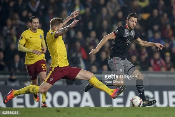 Sparta Prague 1-0 Southampton: Lacklustre Saints beaten by group leaders