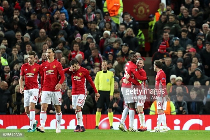 Manchester United 4-0 Feyenoord: United put in star peformance against hapless Dutch