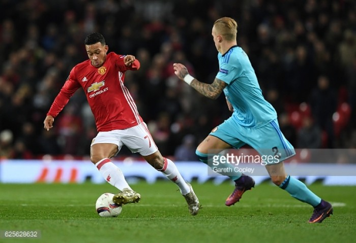 "Mourinho admits ""it hurts"" to leave players like Young and Memphis out of Manchester United squad"