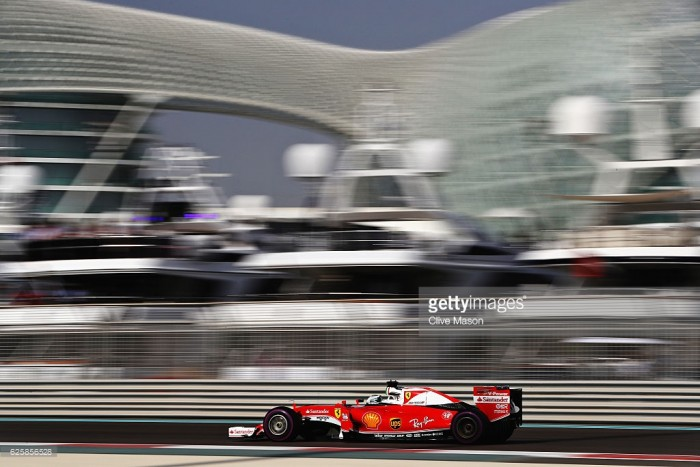 Abu Dhabi GP 2016: Vettel fastest in FP3