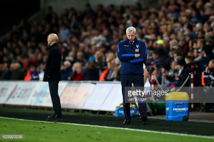 Palace win to ease pressure on Pardew