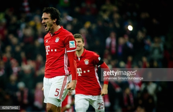 Bayern Munich 2-1 Bayer Leverkusen : Mats Hummels seals hard-fought victory for Die Roten