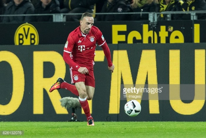 Franck Ribery agrees one-year contract extension with Bayern Munich