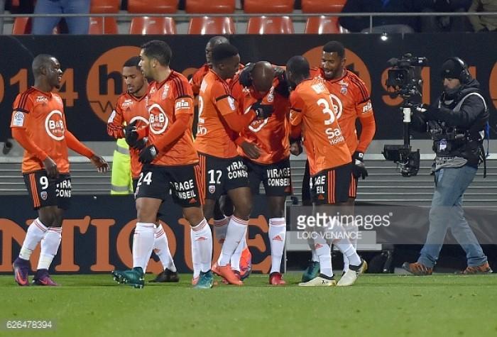 FC Lorient 2-1 Stade Rennais: Bernard Casoni marks first win as boss in derby