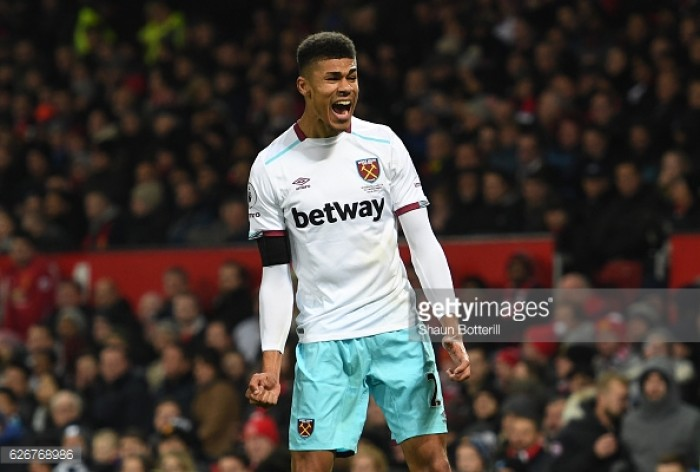 "Ashley Fletcher shares ""unbelievable"" feeling after first West Ham goal in Manchester United defeat"
