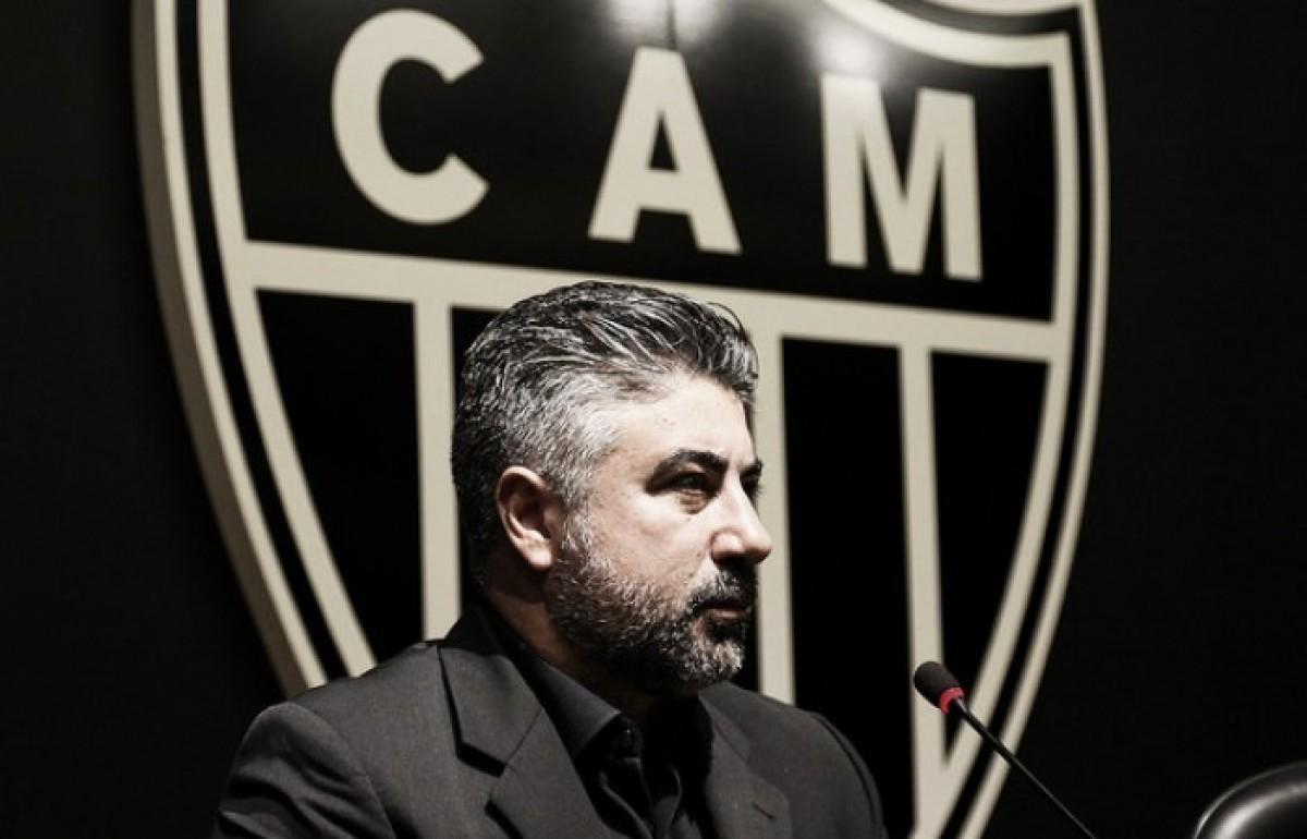 Diretor do Atlético-MG, Alexandre Gallo promete reforços para início do Campeonato Brasileiro