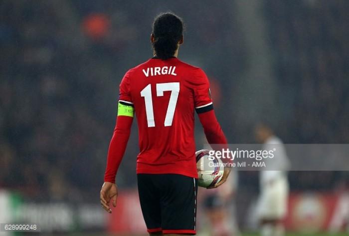 Southampton's Virgil van Dijk hands in transfer request
