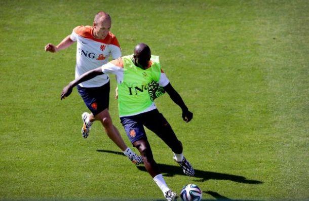 Mondiali, Olanda: tensione in allenamento fra Martins Indi e Robben
