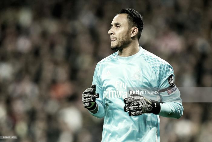 Com lesão muscular, Keylor Navas pode desfalcar Real Madrid diante do Getafe