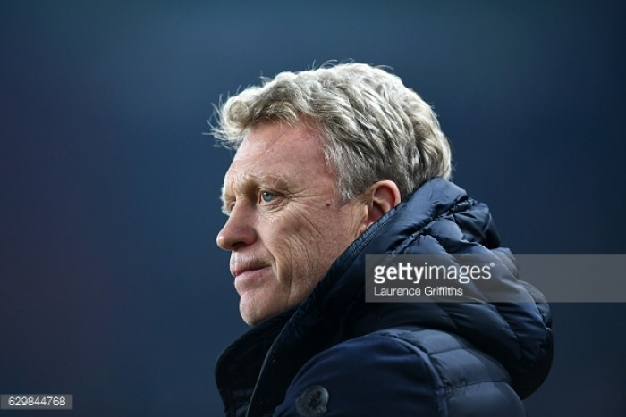 David Moyes is looking for another winning run ahead of crucial Watford clash