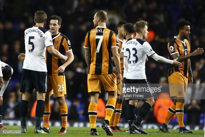 Four-goal Kane shines as Tottenham hammer Leicester in PL clash