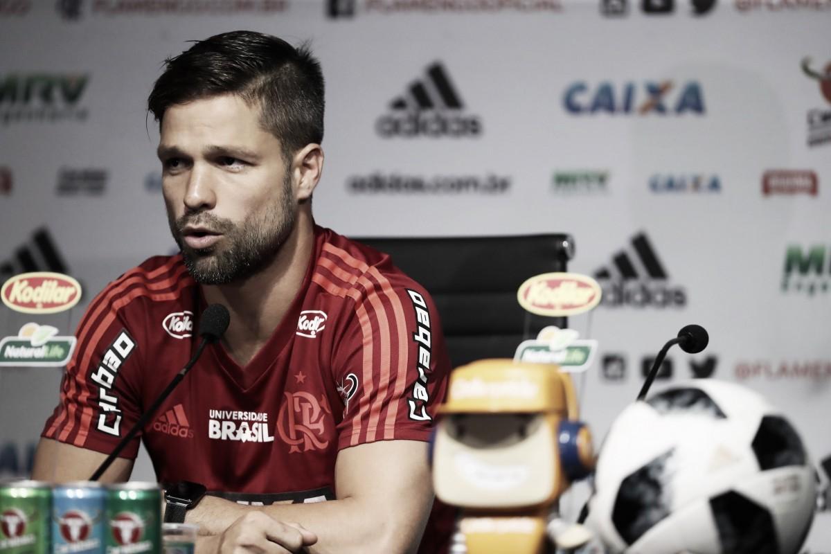 """Diego analisa mês de agosto do Flamengo: """"Poderia ter sido melhor"""""""
