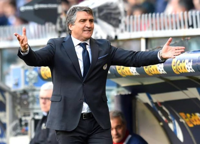 """Udinese, De Canio: """"Distrazioni evitabili"""""""