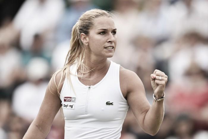 Em um dos melhores confrontos de Wimbledon, Cibulkova desbanca Radwanska