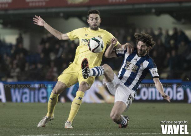 Fotos e imágenes del Villarreal 1-0 Real Sociedad, ida de octavos de final de Copa del Rey