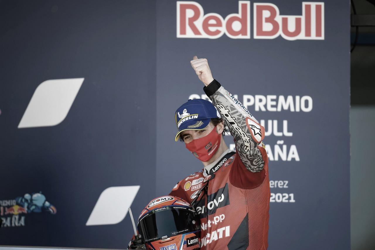 Previa MotoGP GP de Francia 2021: Bagnaia líder del Mundial