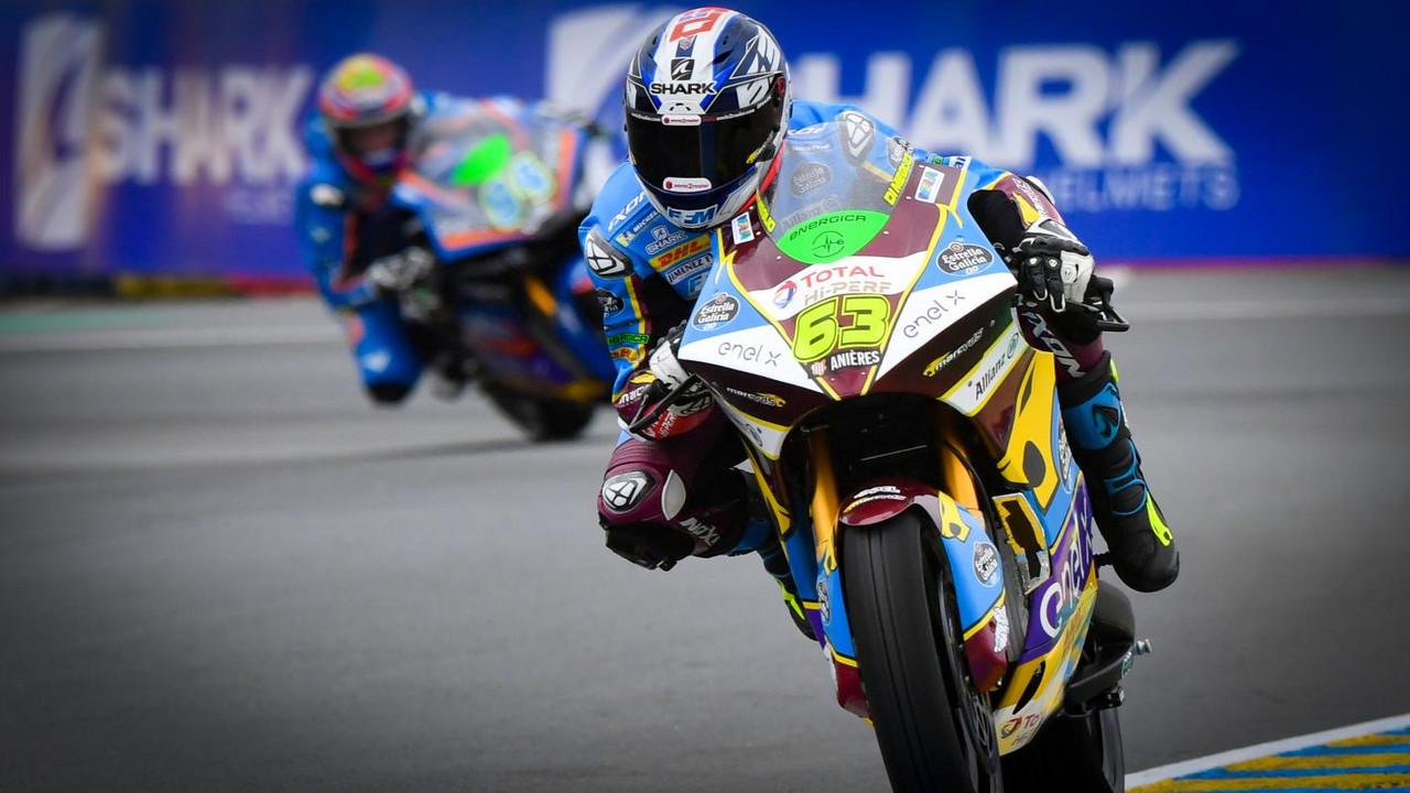 Mike rodando en el circuito de casa // motogp.com