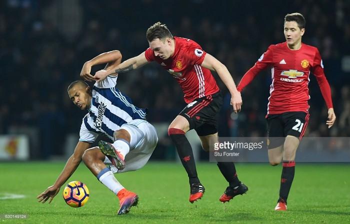Lukaku and Lingard ensure United win despite nervous last ten minutes against the Baggies