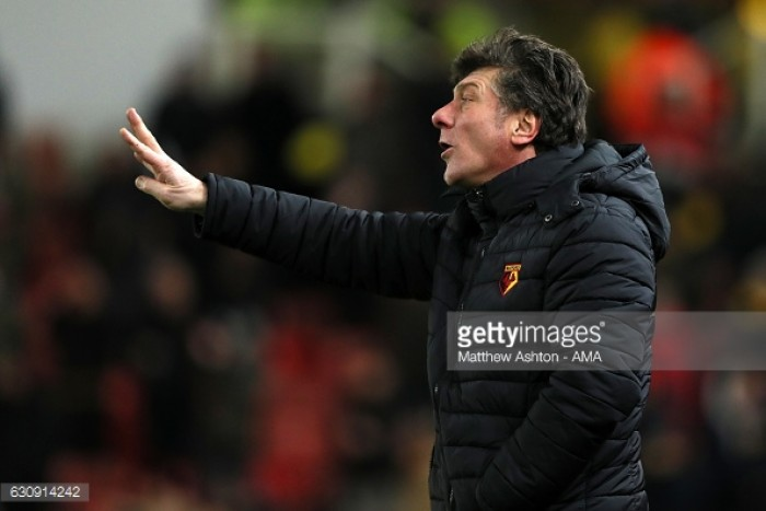 Walter Mazzarri not worried about sack rumours after Stoke defeat