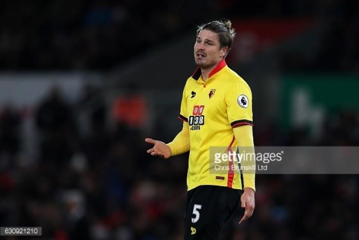 Watford must carry on, says Sebastian Prodl