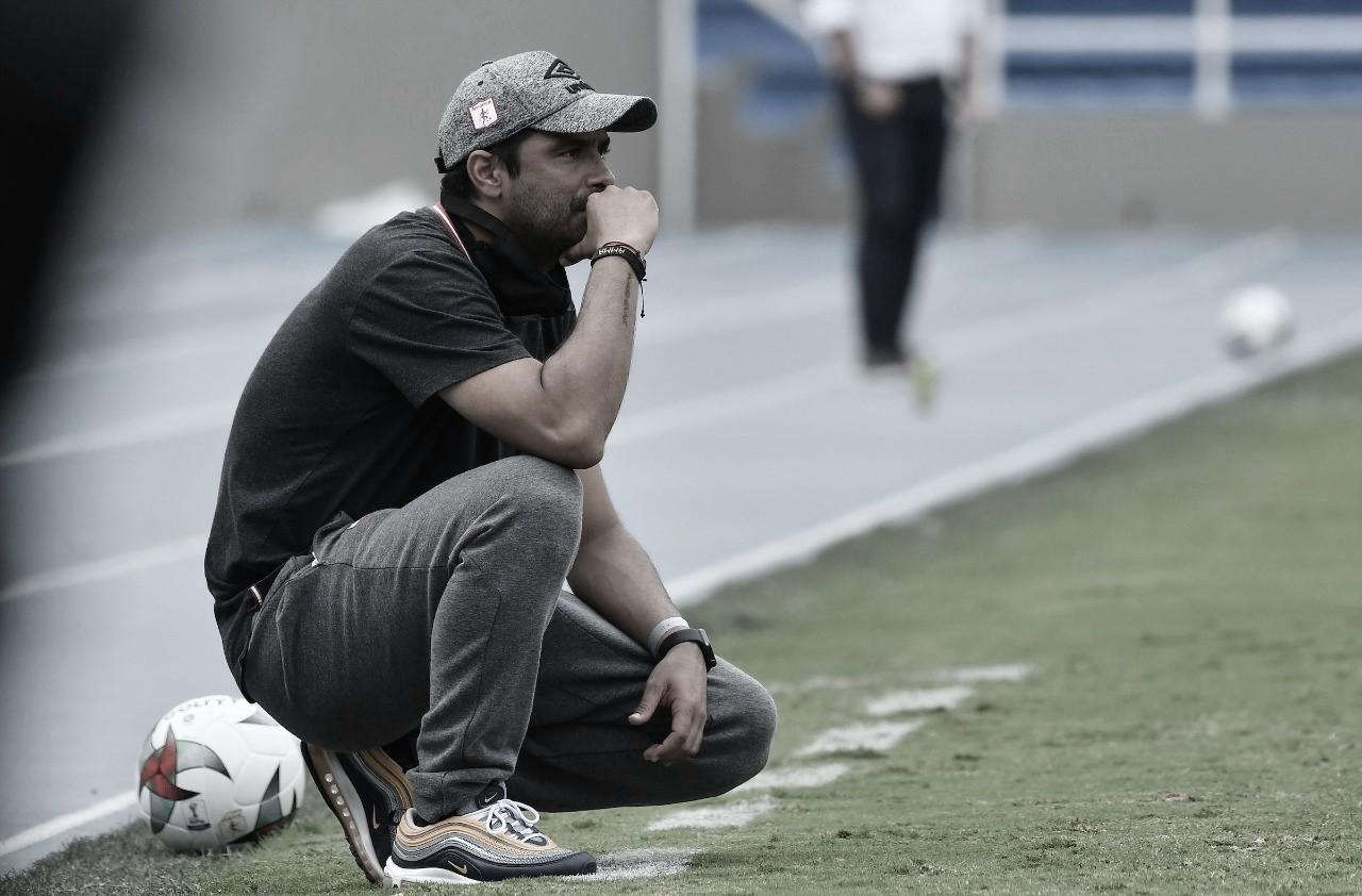 """Andrés Usme: """"Estamos muy contentos,queremos salir campeones en la Copa Libertadores Femenina"""""""