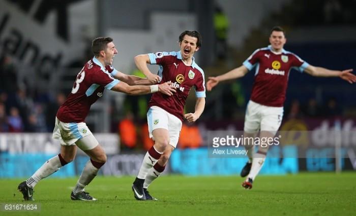 Burnley 1-0 Southampton: Barton marks Turf Moor return with winning strike