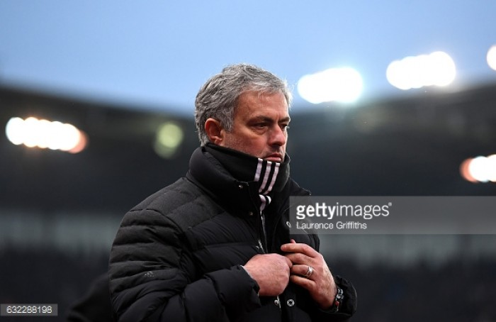 """Manchester United manager Jose Mourinho """"cannot be happy with a point"""" in Stoke stalemate"""