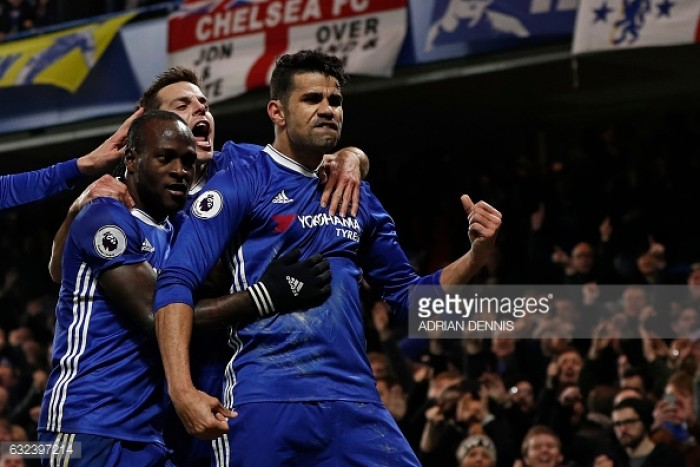 Antonio Conte 'pleased' for Diego Costa after goal-scoring return