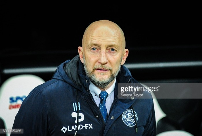 QPR manager Ian Holloway looking to improve team spirit ahead of next season