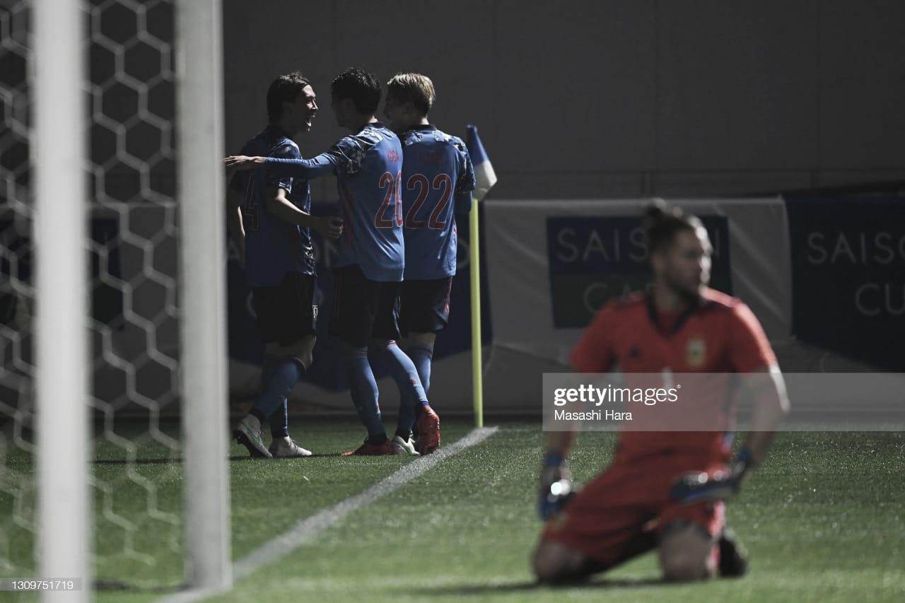La Selección Sub 23 cerró su gira con una derrota