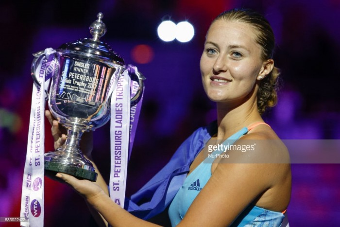 WTA St. Petersburg preview and predictions