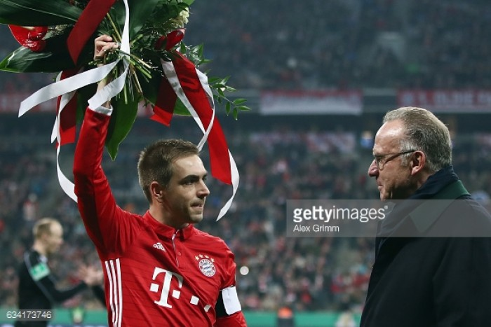 Bayern captain Lahm says he's retiring at end of season