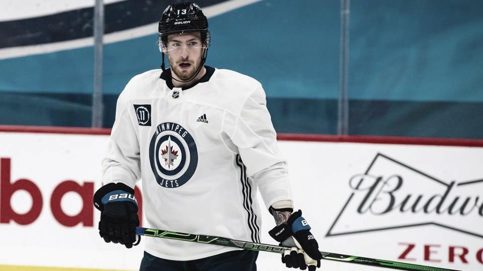 Dubois ya entrena con Winnipeg Jets