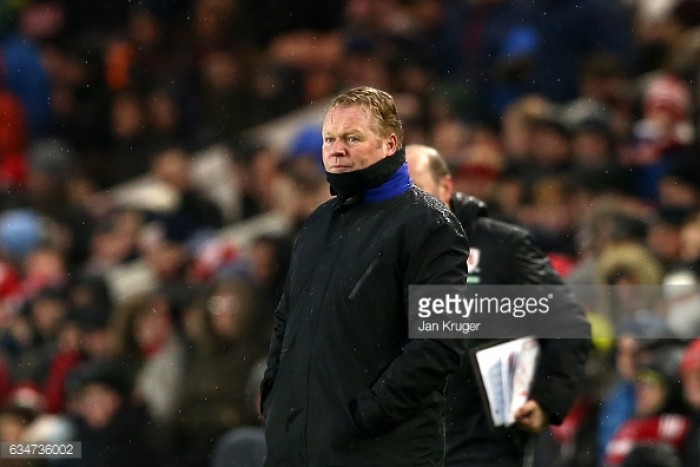 """Goalless draw at the Riverside a """"fair result for both teams"""" states Ronald Koeman"""