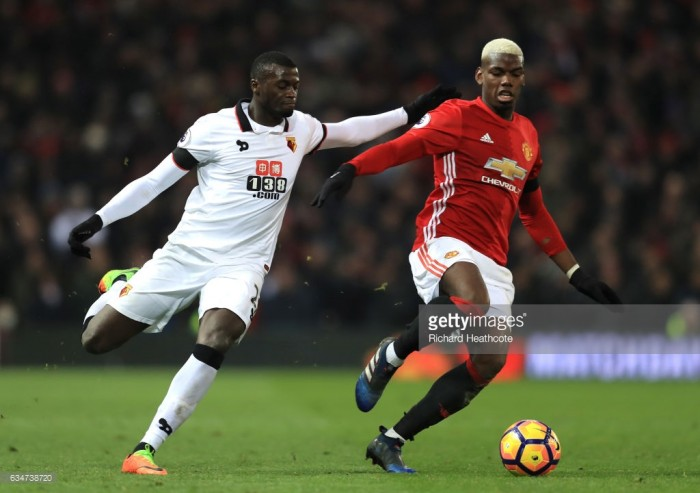 Man United score four in win at Watford