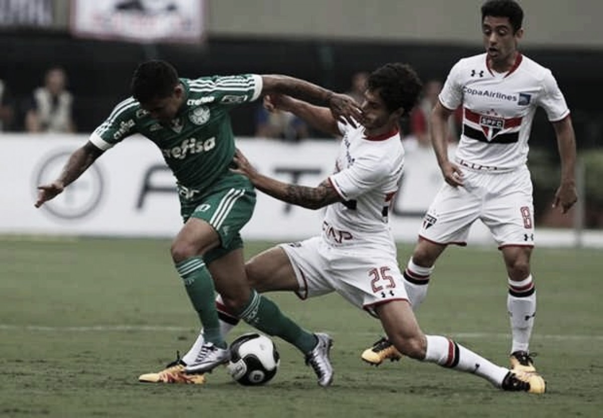 Em vistas do mata-mata, Palmeiras e São Paulo se enfrentam pelo Campeonato Paulista